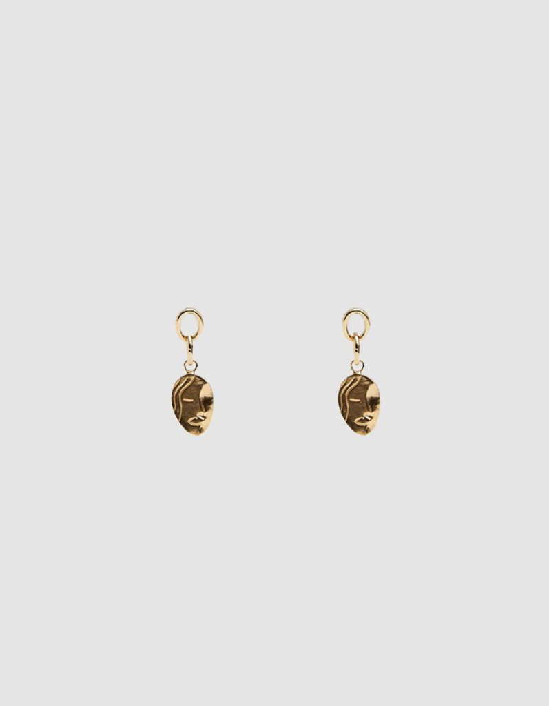 Wolf Circus Ilona Face Earrings $150.00