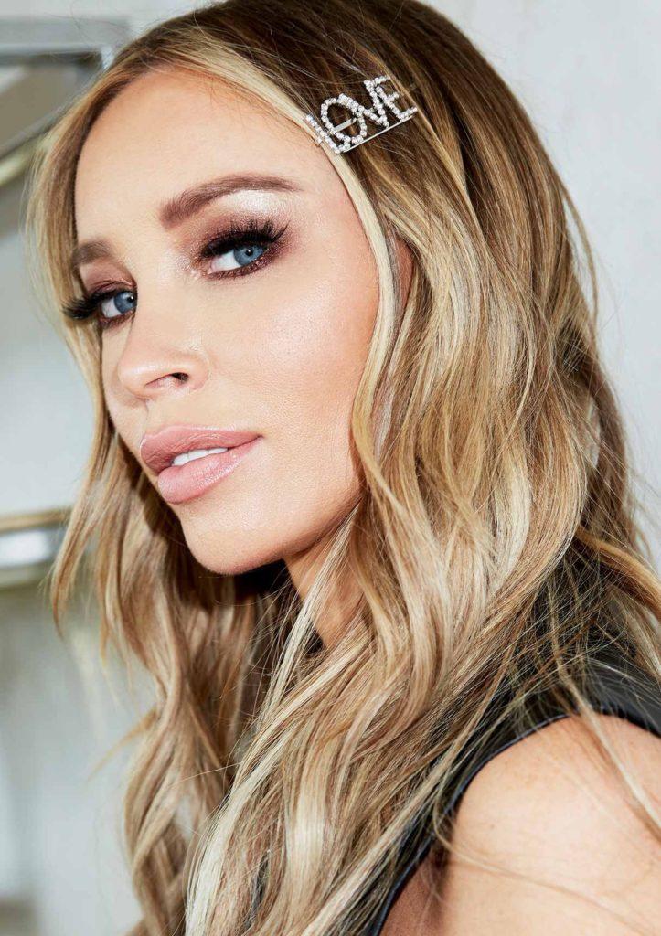 Emmie Silver Diamante Love Slogan Hair Clip $6.65