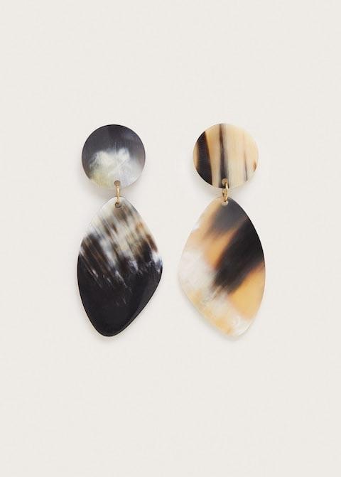 Tortoiseshell earrings $29.99