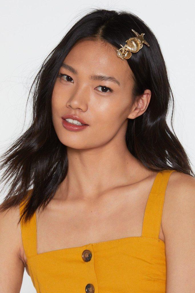 Multi Shell Hair Clip $4.00