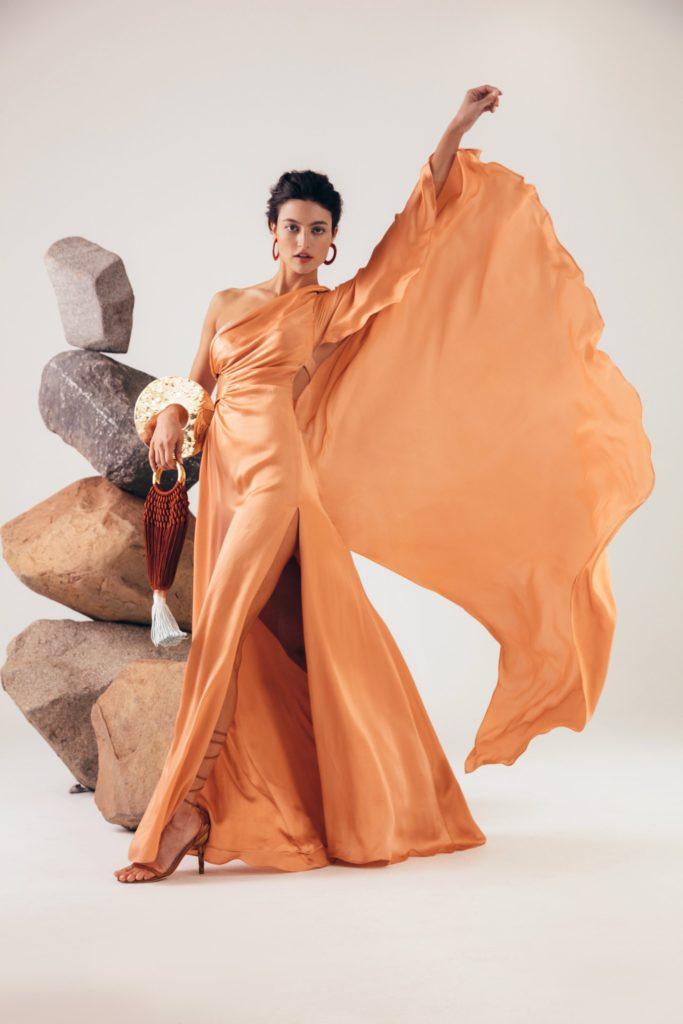 Cosette Gown - Peach $1,200.00