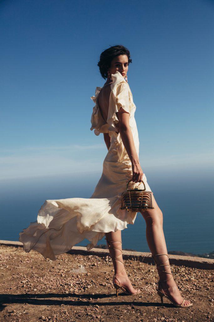 Isabel Dress - Gold $400.00