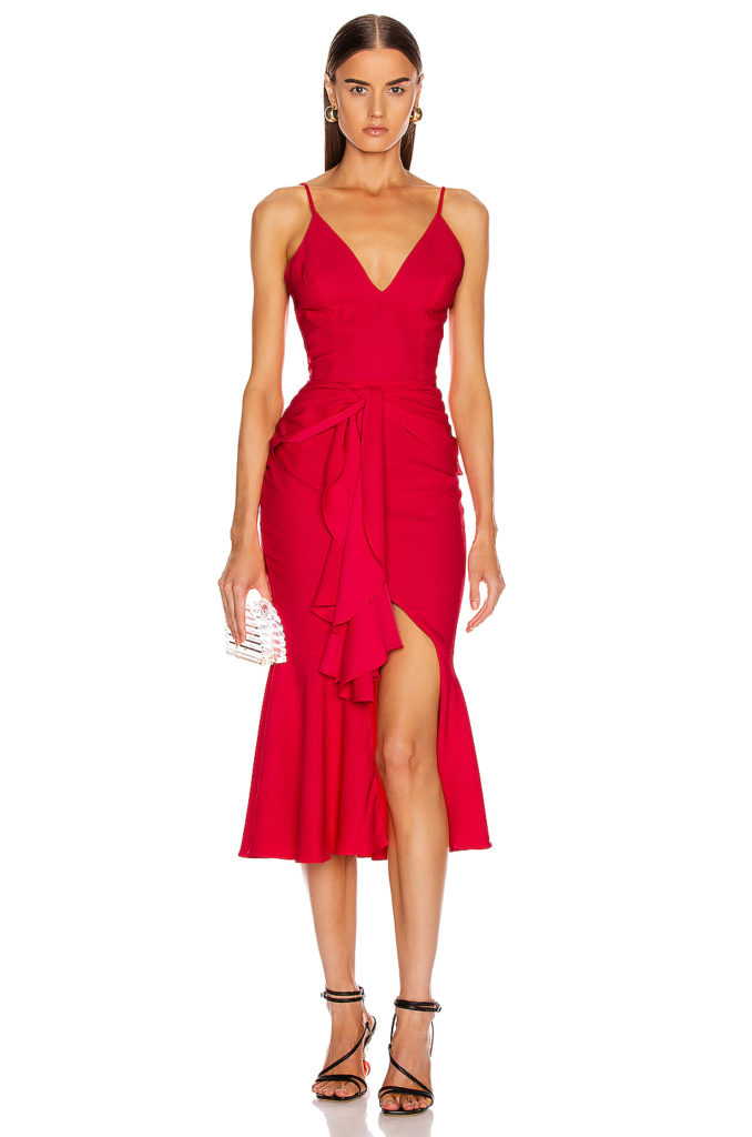 PATBO Bo Ruffle Midi Dress $595