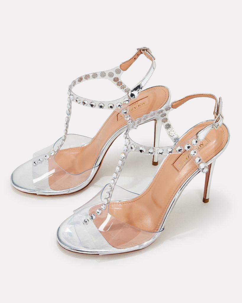 Aquazzura Shine 105mm Sandals $995.00