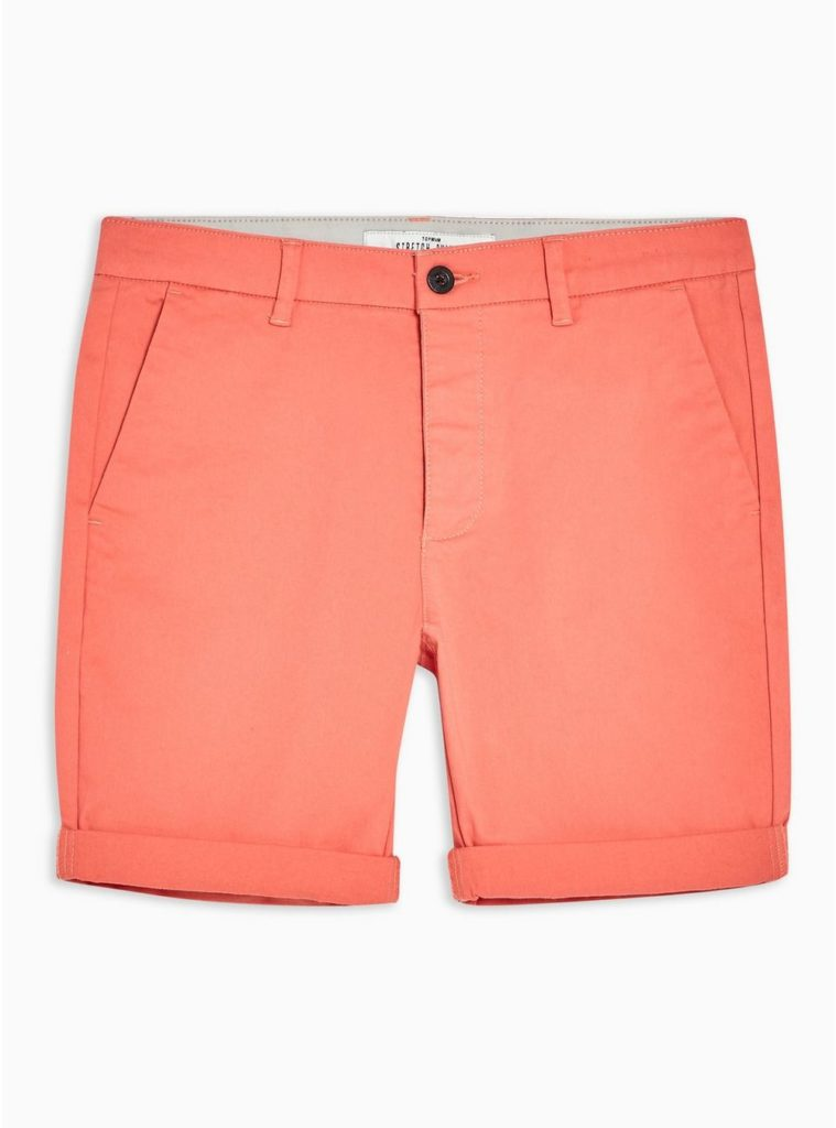 Stretch Skinny Chino Shorts TOPMAN $35.00