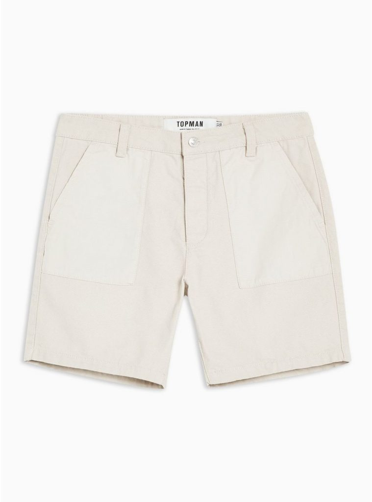 Stone Utility Shorts $55.00