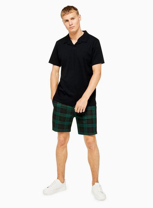 Black Watch Check Shorts $55.00