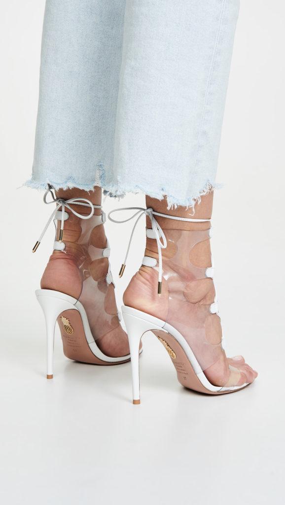 Aquazzura Milos 105mm Sandals $795.00