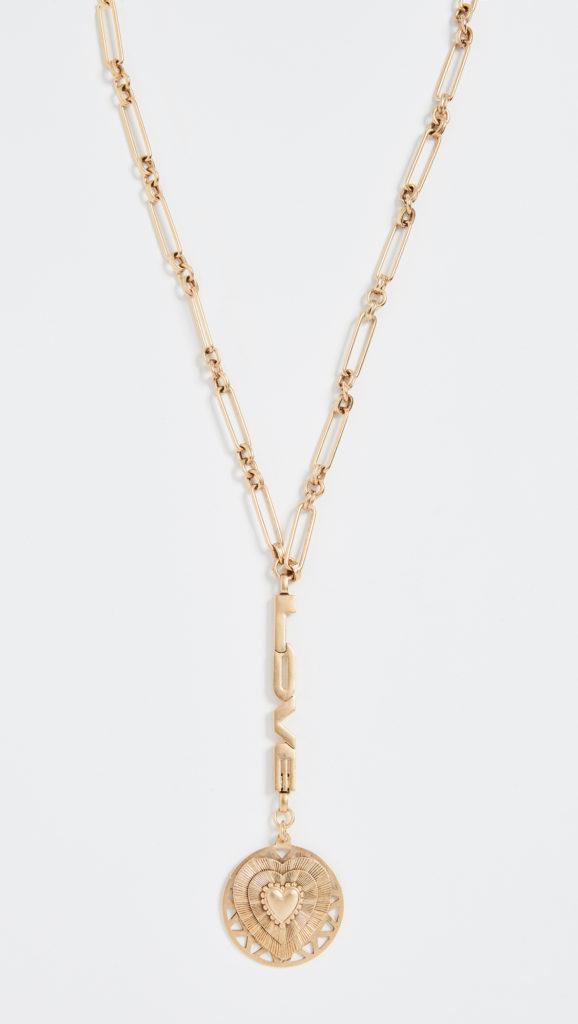 Brinker & Eliza Love You To The Moon Y-Necklace $188.00