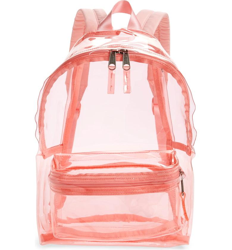 Orbit Clear Backpack EASTPAK $70.00