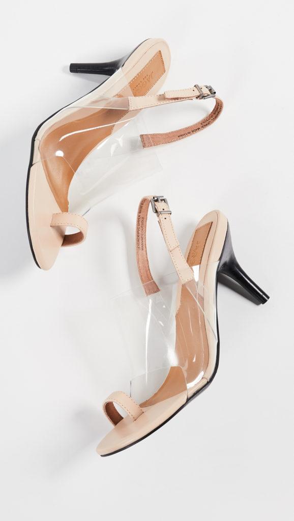 JAGGAR Virtual Toe Ring Sandals $164.00