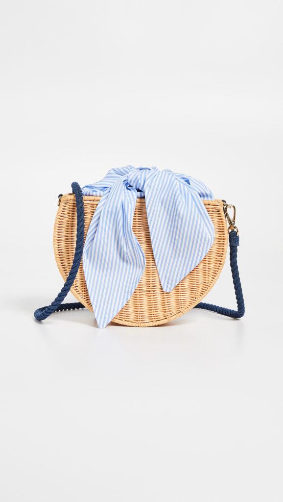 Kayu Dylan Wicker Crossbody Bag $260.00