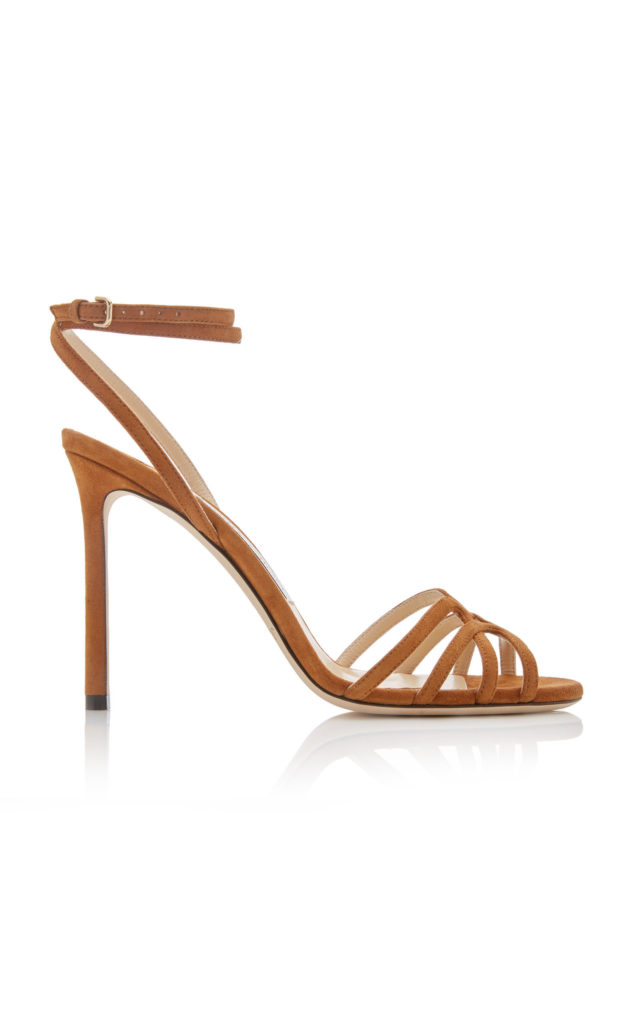 Jimmy Choo Mimi Suede Sandals $850.00