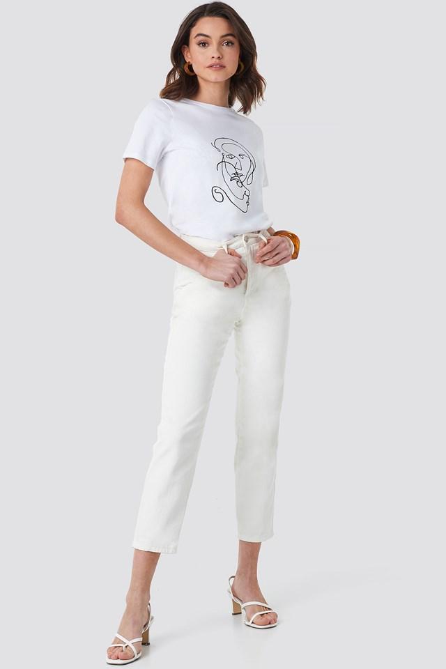Faces T-shirt White $23.95