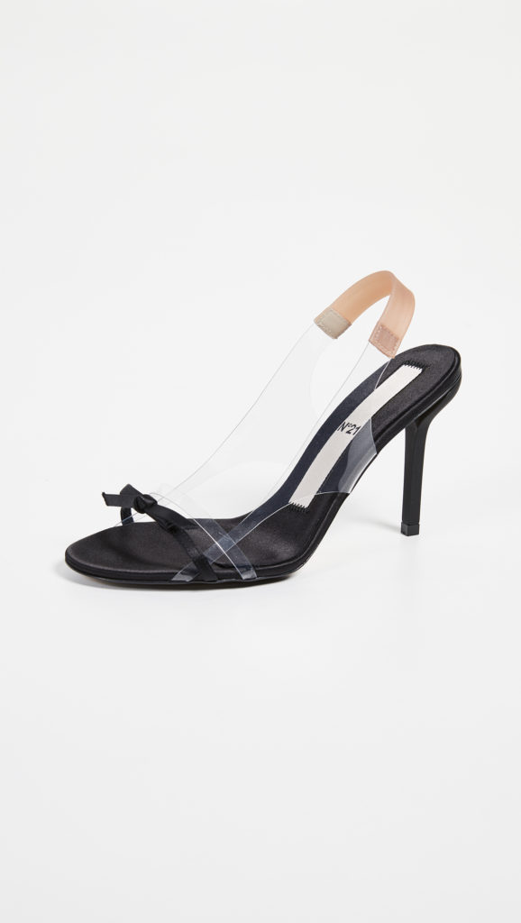 No. 21 Slingback Bow Sandals $625.00