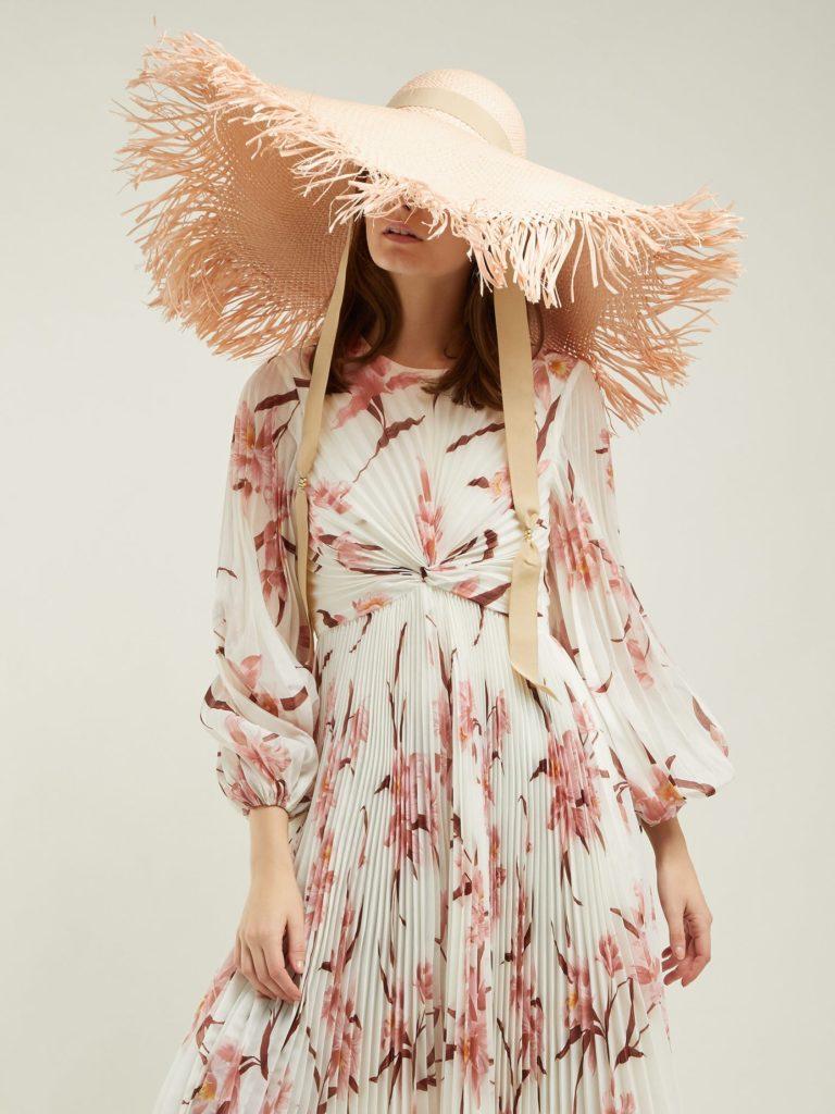 SENSI STUDIO Oversized straw hat $229