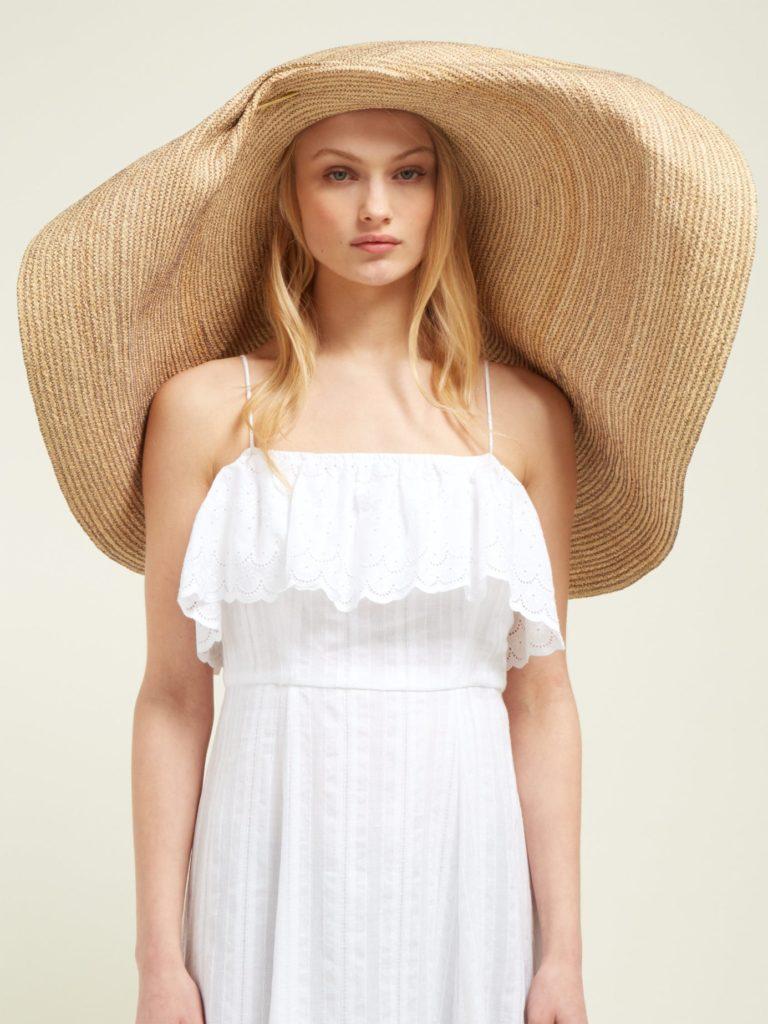 LOLA HATS Giga Spinner oversized straw hat $770