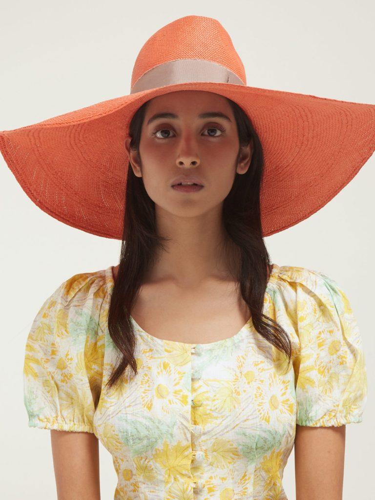 HOUSE OF LAFAYETTE Brandi wide-brim straw hat $521