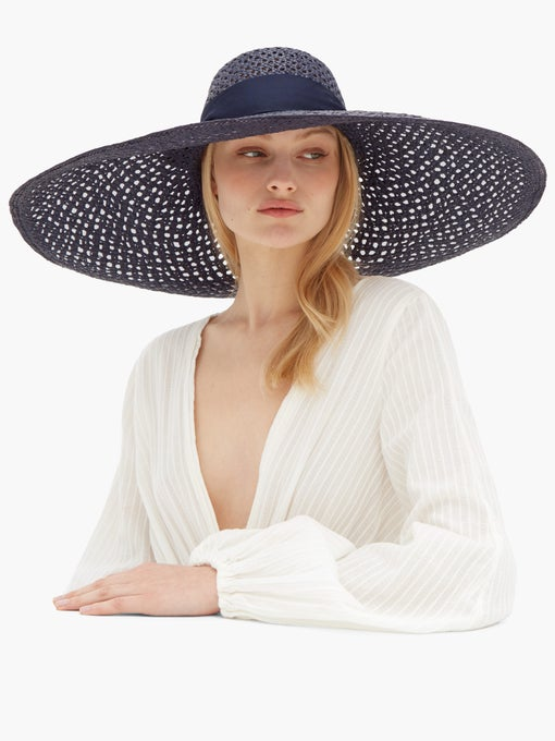 LOLA HATS  Grand Rise and Shine straw hat $465