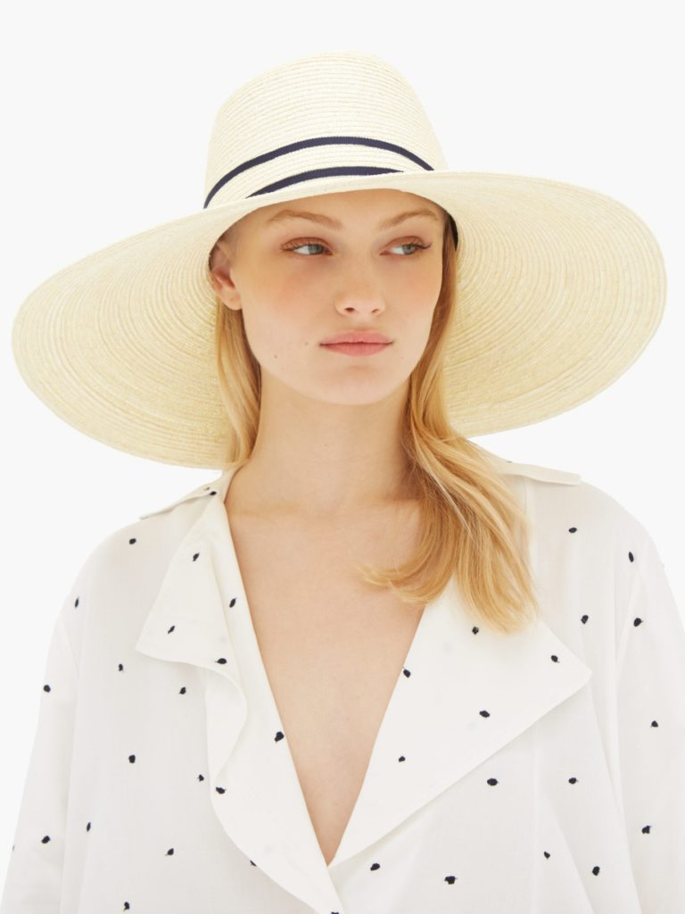 LOLA HATS  In The Loop straw hat $311