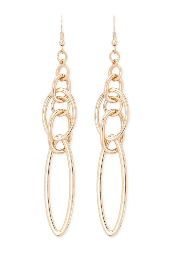 Cutout Chain Drop Earrings $5.90