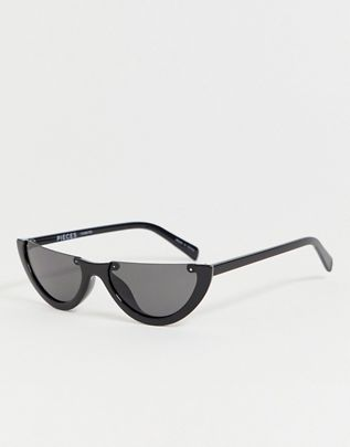 Pieces cut off cateye sunglasses $23.00https://fave.co/2WPP9dl