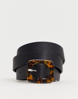Pieces tortoise shell buckle belt $14.50