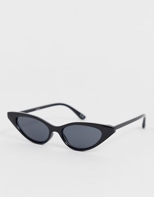 cat eye sunglasses in black with smoke lens$16.00https://fave.co/2x2dz9i