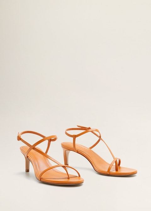 Leather straps sandals $79.99