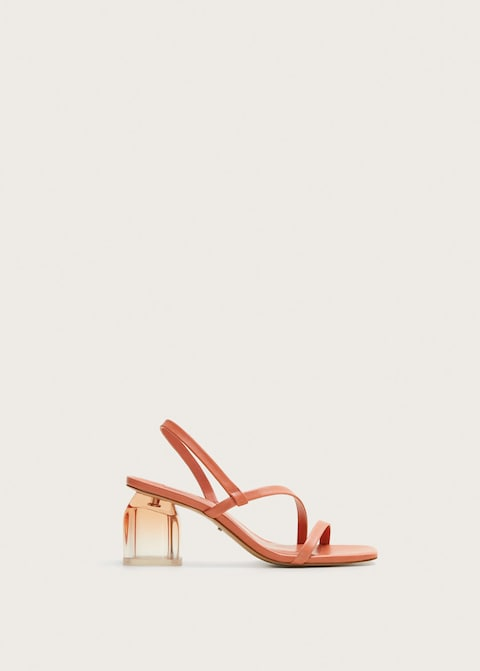 Leather straps sandals $119.99
