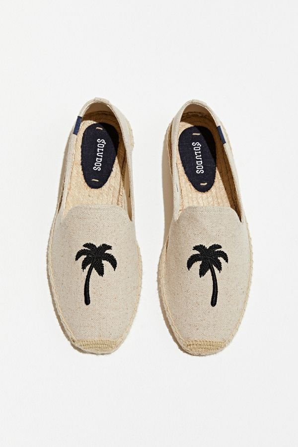 Soludos Palm Tree Smoking Slipper $85.00