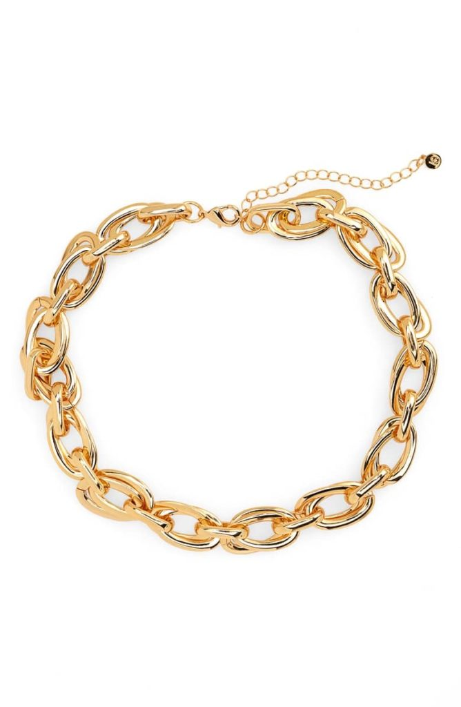 Chain Necklace JULES SMITH $70.00