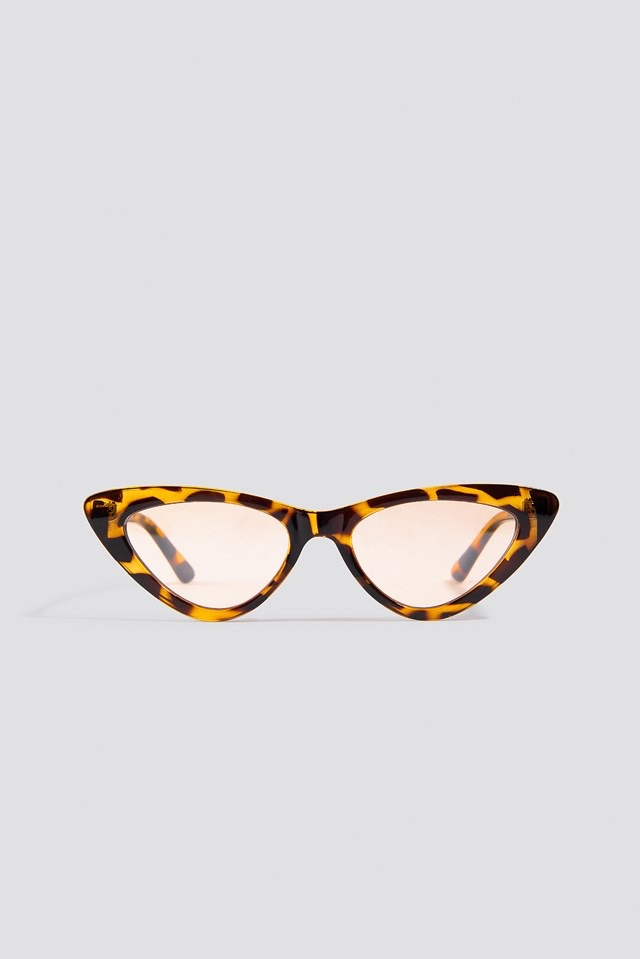 Cateye Sunglasses Brown $17.95