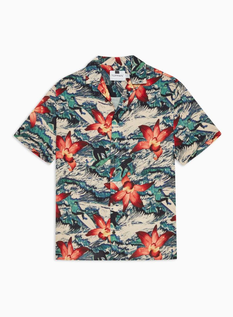 Surfer Orchid Revere Shirt $45.00