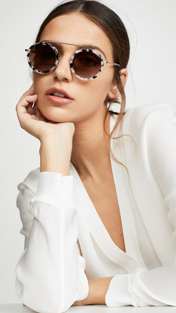 Krewe Conti Sunglasses $255.00