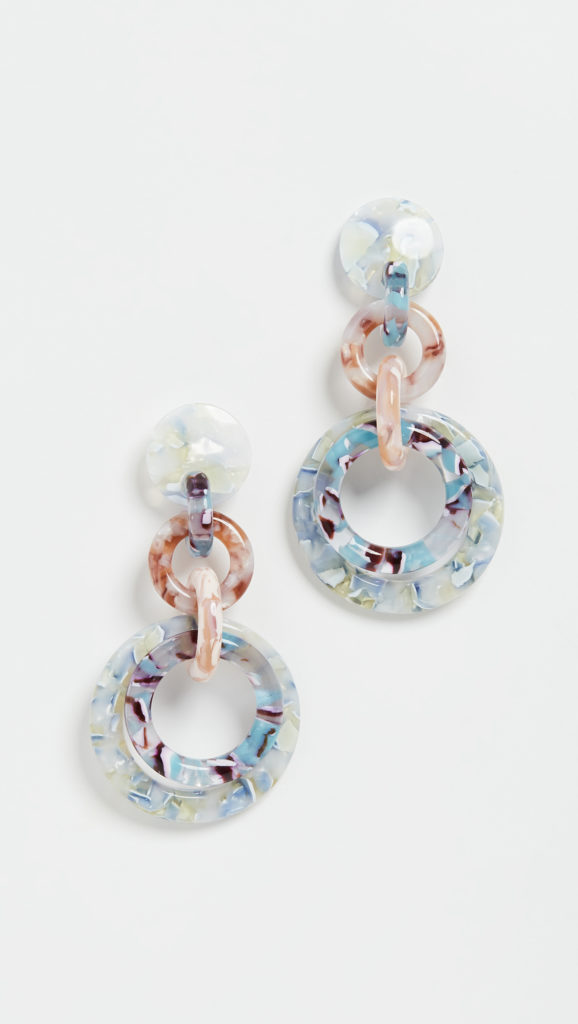 Lele Sadoughi Loop De Loop Earrings $168.00