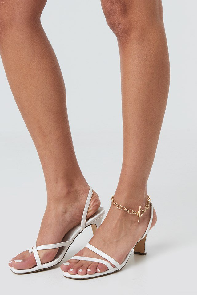Big Chain Ankle Bracelet Gold $14.95