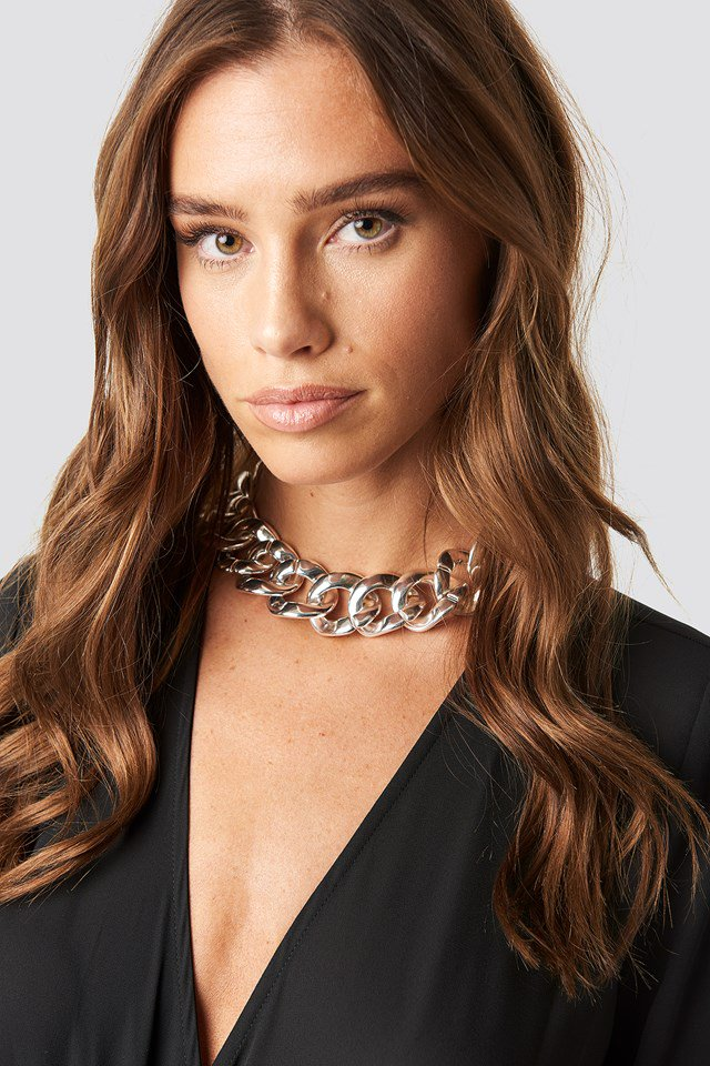 Big Chain Necklace Silver $17.95