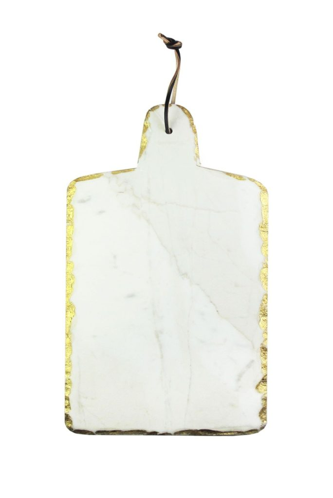 Marble & Gold Trimmed Cutting Board $24.97https://fave.co/30HtA0Y