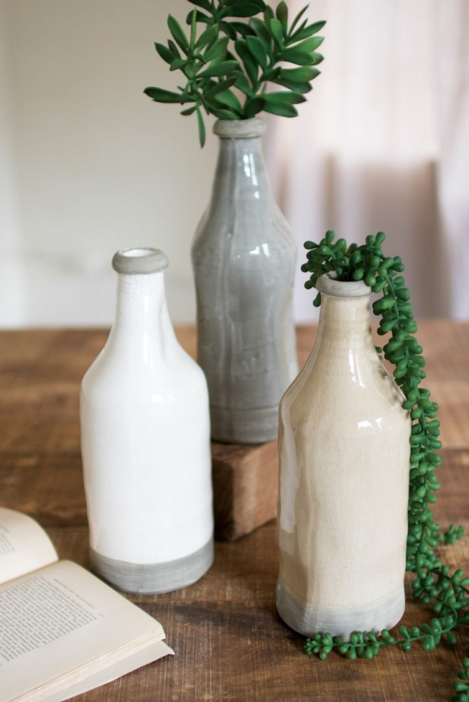 Ceramic Bottle - Set of 3 $36.97