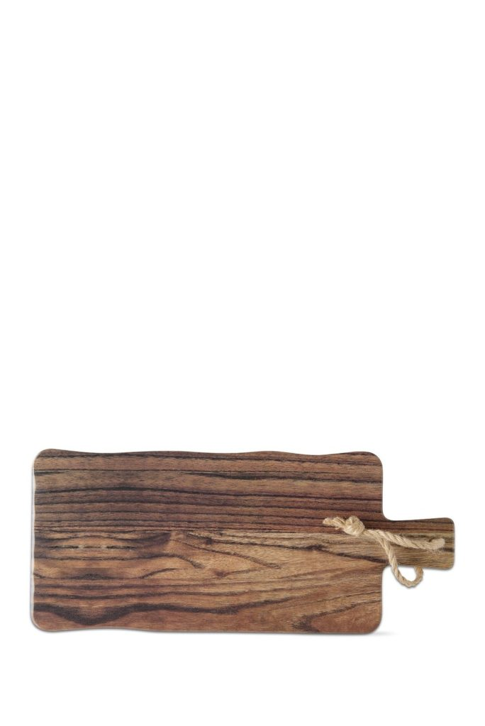 Barnwood Melamine Cheese Board $18.97