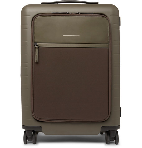 HORIZN STUDIOS M5 55Cm Polycarbonate, Nylon And Leather Carry-On Suitcase $350