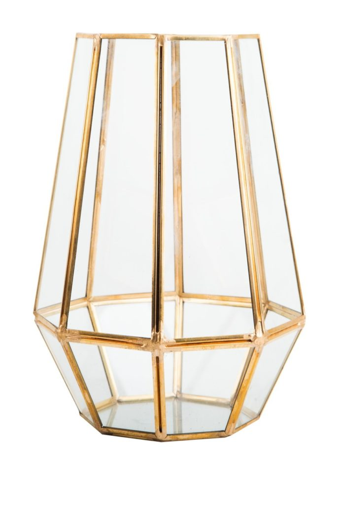 Gold Paneled Hanging Votive $24.97