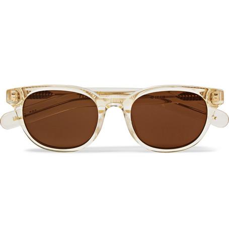 FLATLIST Logic D-Frame Acetate Sunglasses $255