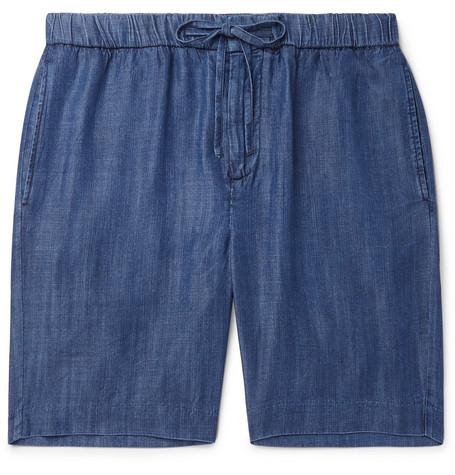 FRESCOBOL CARIOCA Felipe Wide-Leg Tencel Drawstring Shorts $285https://fave.co/32MVjix