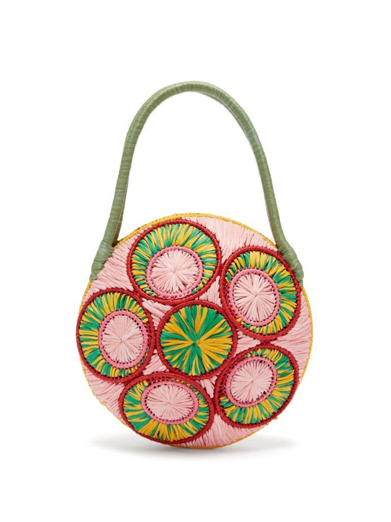SOPHIE ANDERSON Saba woven raffia bag $349