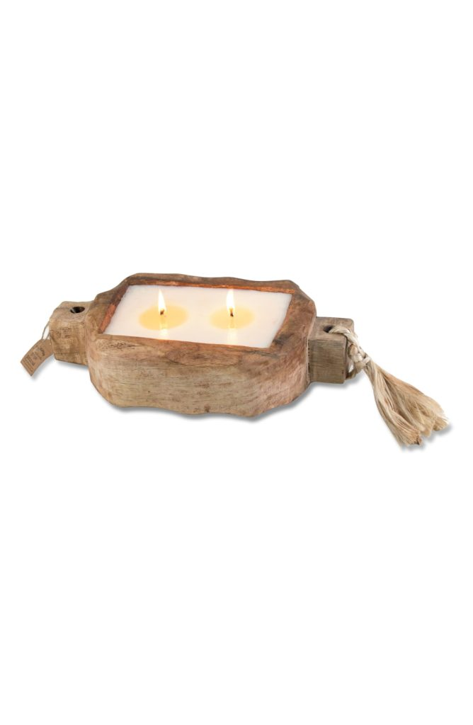 Driftwood Candle HIMALAYAN TRADING POST $59.99