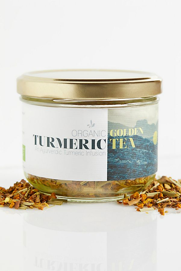 Wunder Workshop Golden Turmeric Tea $12.00