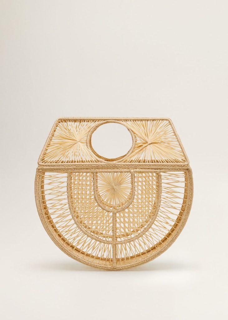 Raffia handmade bag $59.99