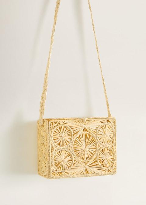 Coffer raffia bag $49.99